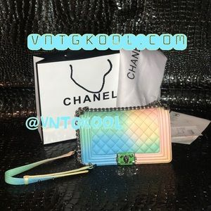 Rainbow Chanel Shoulderbag